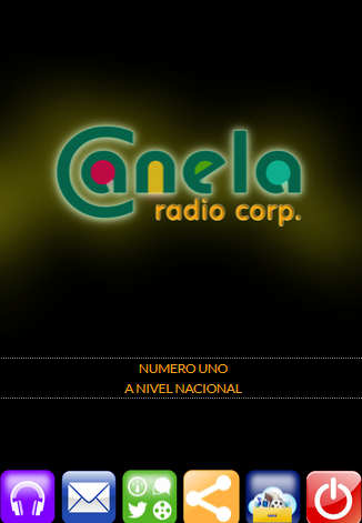 Radio Canela Ecuador- screenshot