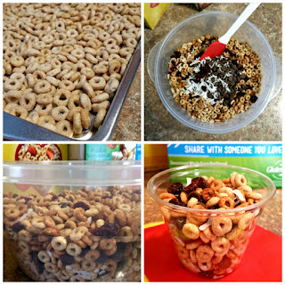 Four Generations of Tradition & Cheerios™ Morning Snack-mix.