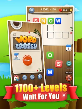 Word Zoo Crossy - Word Connect Puzzle
