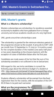 Switzerland Scholarship Apply - náhled