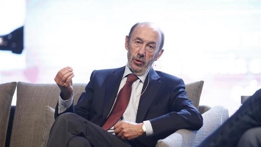 Pérez Rubalcaba, en una imagen de archivo.