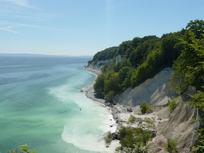 Photo: The Chalk Cliffs (Kreidefelsen) of Rügen Island, Germany