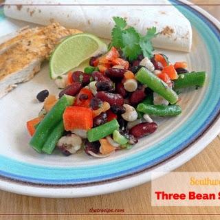 Southwestern Three Bean Salad Recipe