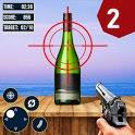 Real Bottle Shooting Hero :Free Shoot Games icon
