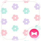 Cute Theme-Sugar Daisy- icon