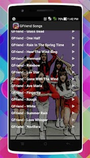 GFriend Songs - náhled
