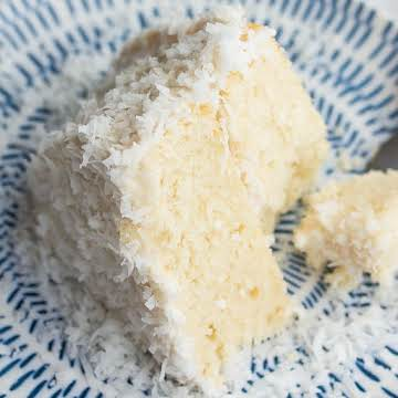 1 Bowl Vegan Coconut Cake