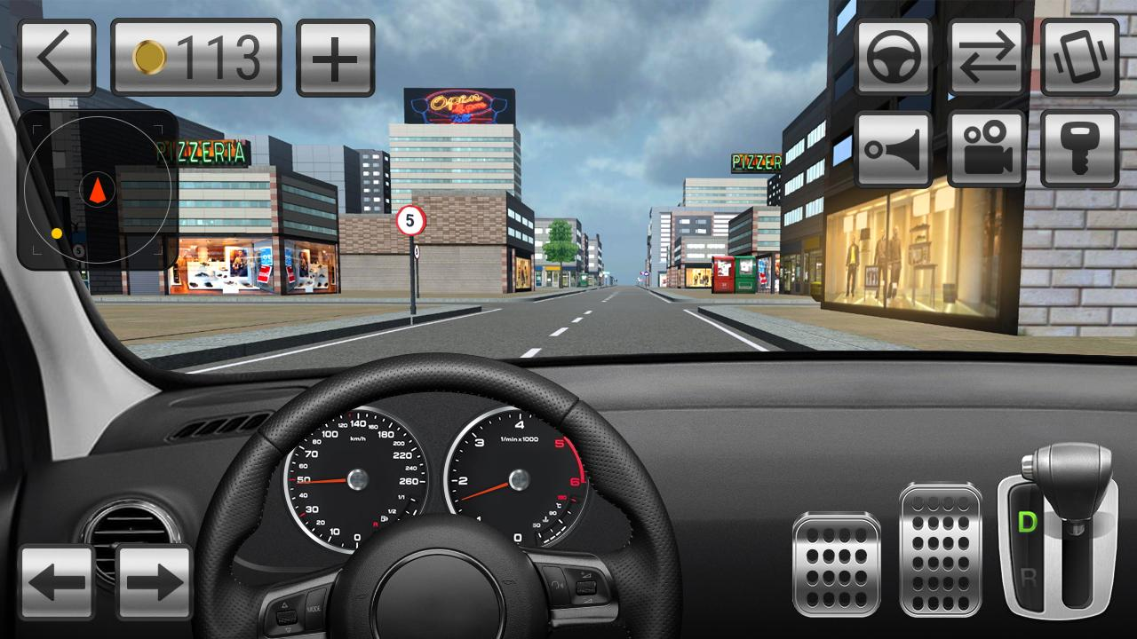 driving car simulator android apps on google play. Black Bedroom Furniture Sets. Home Design Ideas