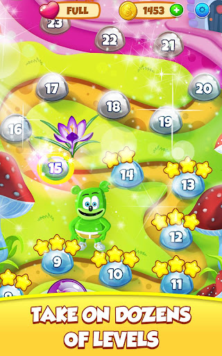 Gummy Bear Bubble Pop - Kids Game apktram screenshots 15