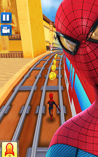 Subway avengers Infinity Dash: spiderman & ironman - náhled