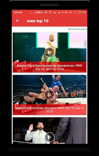 WWTUBE : FOR WWE 2.0.2 screenshots 2
