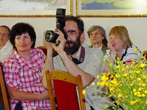 Photo: LAB Panevėžio filialo vedėja Nijolė Bielinskienė. Fotografuoja žurnalistas Vytautas Gendvilas.