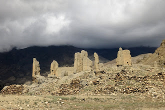 Photo: Les ruines du village d'Akiama