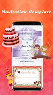 Pro invitation maker android apps on google play pro invitation maker screenshot thumbnail stopboris Choice Image