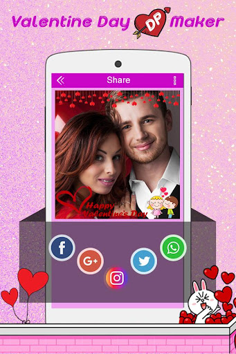 Valentine DP Maker 2018: Love Profile Maker 1.13 screenshots 5