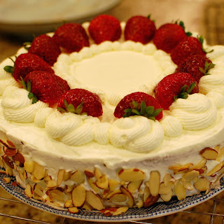 Japanese Strawberry Cake (a.k.a. Chinese Birthday Cake).