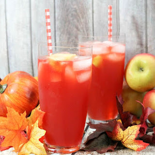 Poison Apple Halloween Drink for Kids.