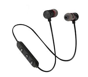 Casti Bluetooth cu prindere magnetica