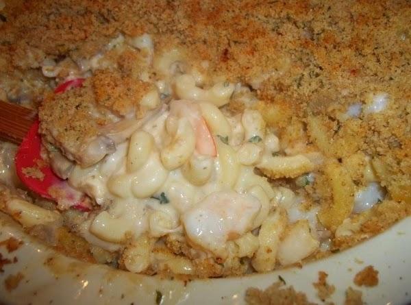 Savory Crab And Shrimp Au Gratin Recipe