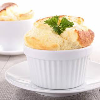 Mini Cheese Souffles.
