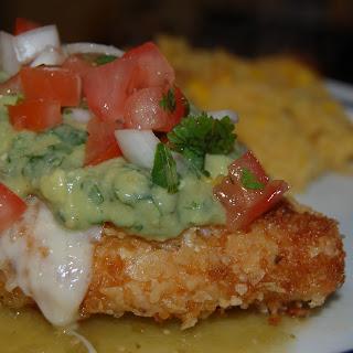 Tortilla Chicken with Salsa Verde