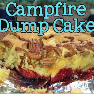 Campfire Dump Cake.