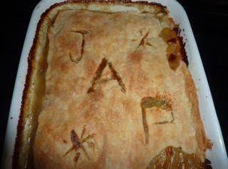 Cut Out Initials, Seasonal Shapes, Or Best Wishes On The Crust Of This Delicious Turkey Pie.
