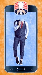 Men Suit and Tie Photo Maker - náhled