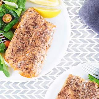 Slow-Baked Salmon with Sumac.