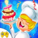 Designer  Birthday Cake Bakery Cooking Game icon