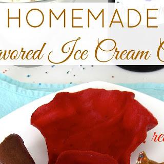 Homemade Sugar Cones Recipes