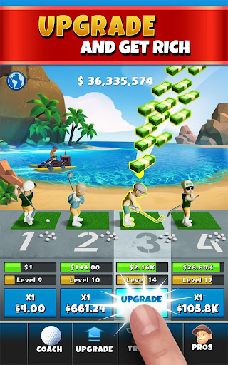 Idle Golf Tycoon screenshot 2