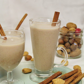Raw Egg Nog For The Holidays.