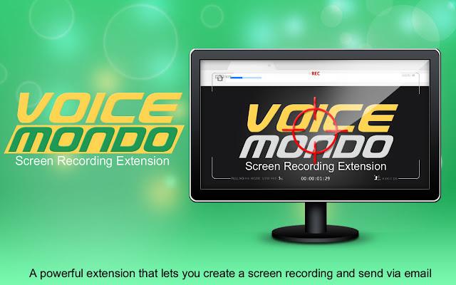 Voicemondo Screen Recording