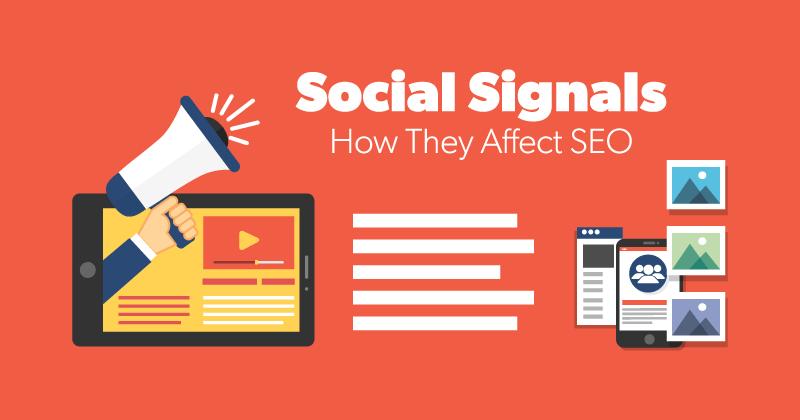 How social signals affect SEO
