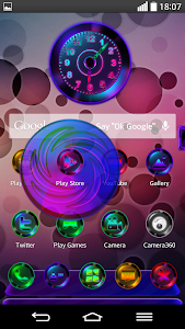 Next Launcher Theme MixedColor v1.6.1