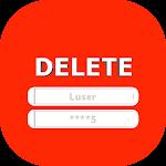 Delete Account - Delete Social Accounts Icon
