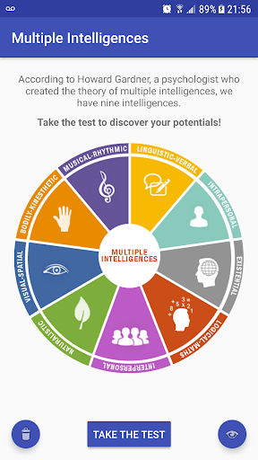 Multiple Intelligences Test for PC