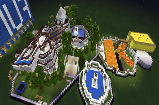 Fun House map for MCPE
