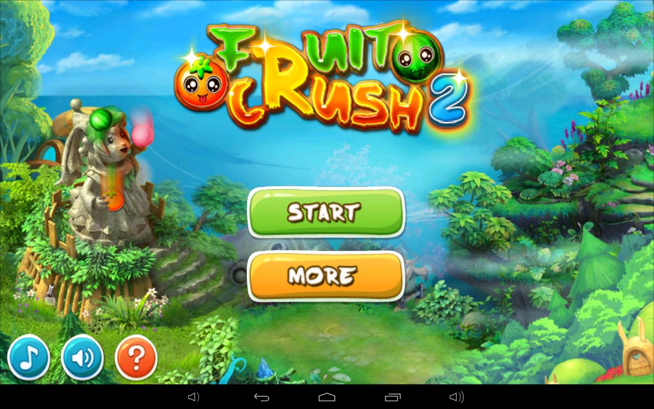 Fruit pop crush game - Fruit Crush 2 Screenshot