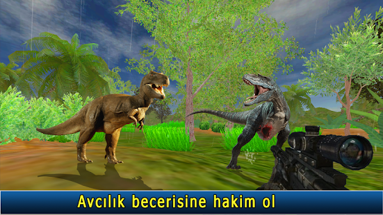 ateş etme Dinozorlar savaş Ekran Görüntüsü