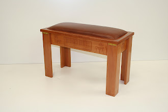 Photo: Piano seat- Christina Hansson Tas Mytle