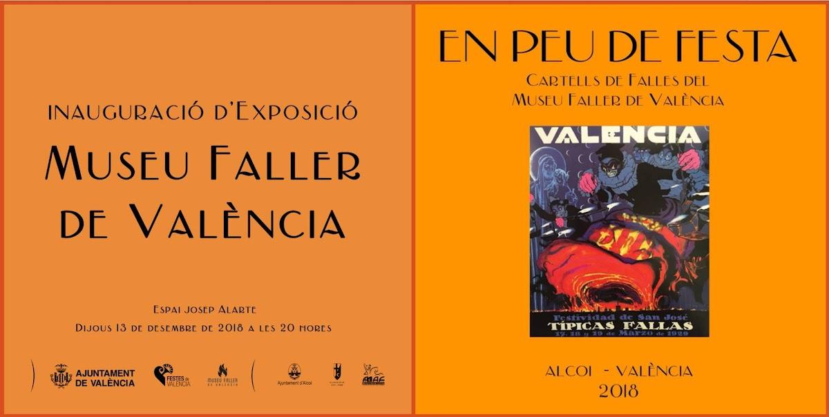 """València acoge la Exposición """"En Peu de Festa. Cartells del Museu Faller de València"""""""