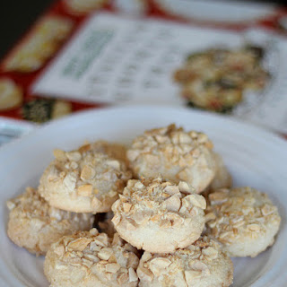 Chewy Amaretti Cookies.