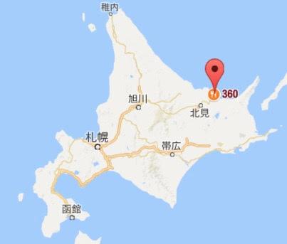 地図:カフェレストラン360