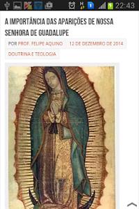 Nossa Senhora de Guadalupe screenshot 2