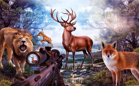 Wild Hunting 3d: Free shooting Game 1