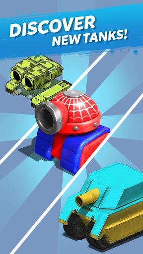 Télécharger Merge Tanks: Funny Spider Tank Awesome Merger mod apk screenshots 4