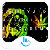 Rasta Weeds Keyboard Theme