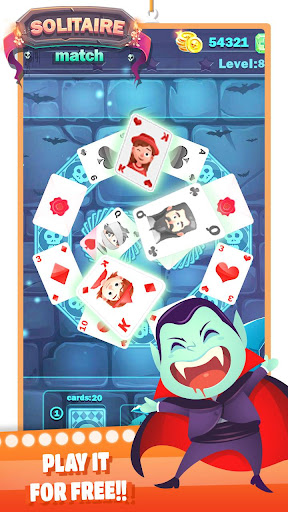 Solitaire Halloween filehippodl screenshot 2